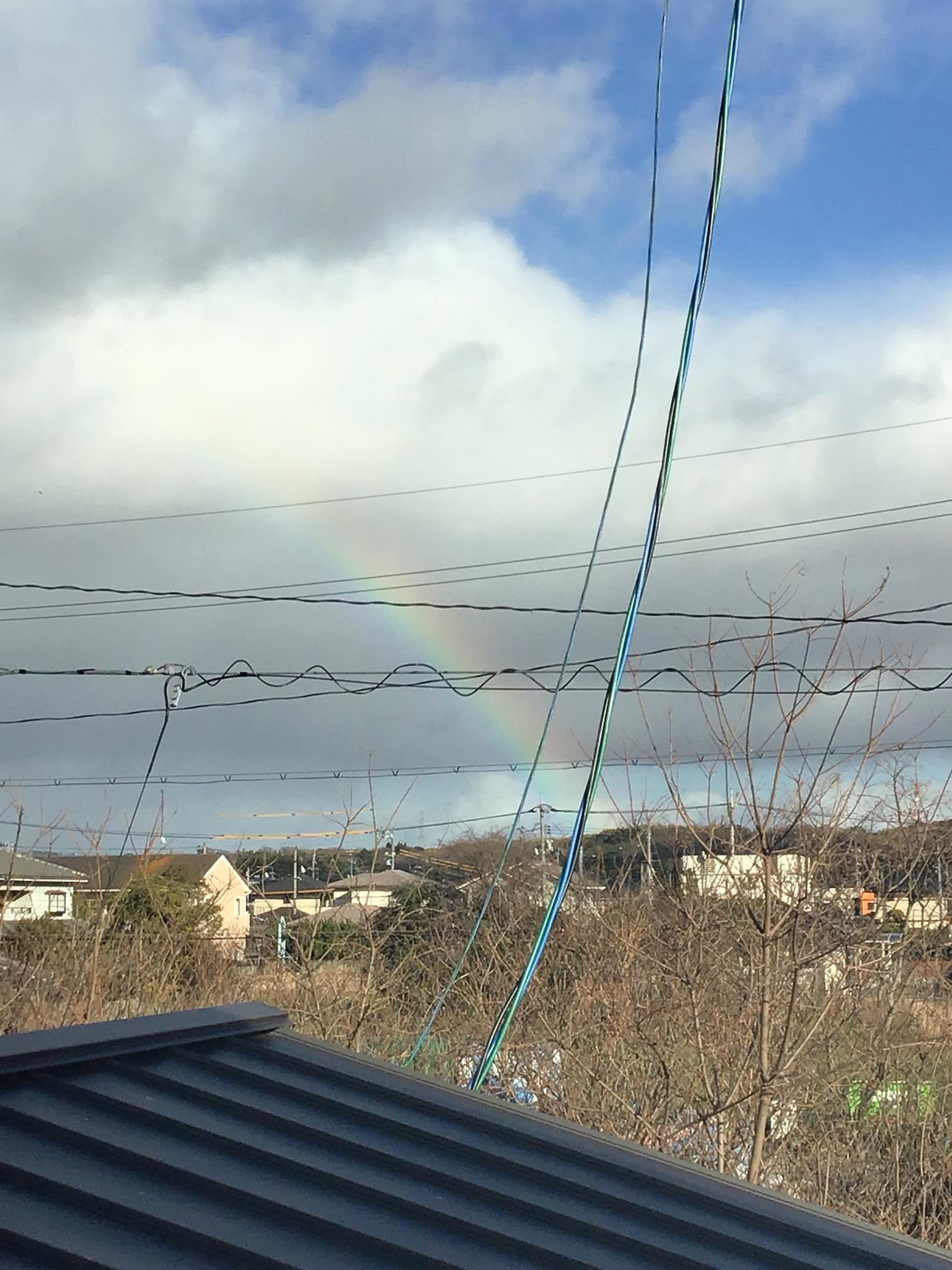 虹がでたよ イメージ